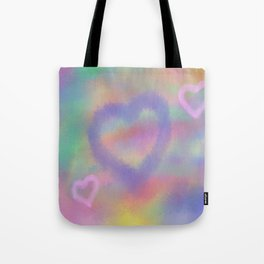 Fuzzy Love Tote Bag
