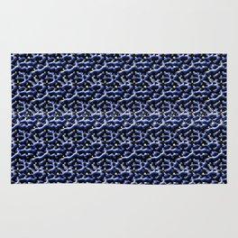Blue Metal Rug