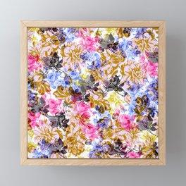 Flowery II Framed Mini Art Print