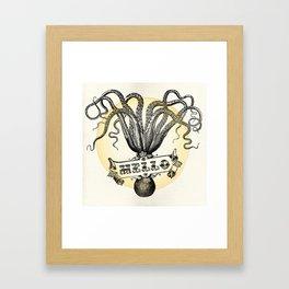 Octo-Hi Framed Art Print