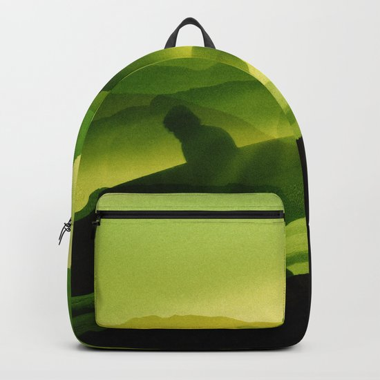 Plastic Surfing Backpack