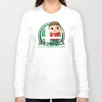 super smash bros Long Sleeve T-shirts featuring Villager - Super Smash Bros. by Donkey Inferno