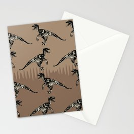 ChocoPaleo: Velociraptor Stationery Cards