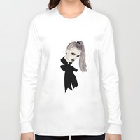 bow Long Sleeve T-shirts featuring Bow by Melania B