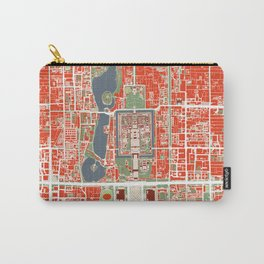 Beijing city map classic Carry-All Pouch