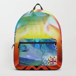 6 Language of Light Base Chakra Symbols Backpack