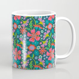 POP FLORAL Pattern Coffee Mug
