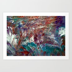 Dreaming (2) Art Print