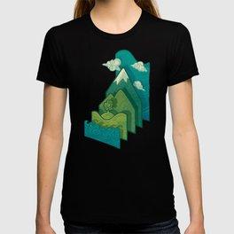 How to Build a Landscape T-shirt