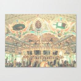 Vintage Carousel Canvas Print