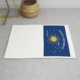 Conch Republic Flag Rug