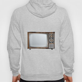 Old Television Set Hoody