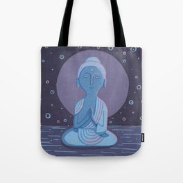 Buddha F Tote Bag