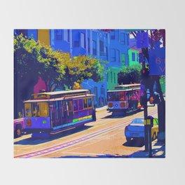 San Francisco 002 Throw Blanket
