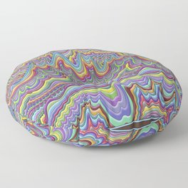 Partly Cloudy Floor Pillow
