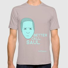 Breaking Bad - Faces - Saul SMALL Cinder Mens Fitted Tee