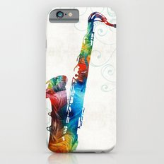 Colorful Saxophone 3 by Sharon Cummings Slim Case iPhone 6s