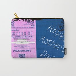 Mothers Day Lottery ticket Carry-All Pouch