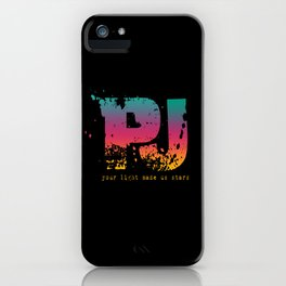 PJ - Your Light Made Us Stars iPhone Case