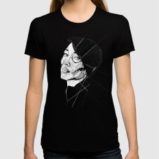 Nikki SMALL Black Womens Fitted Tee