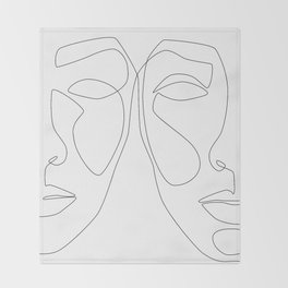 Double Face Throw Blanket