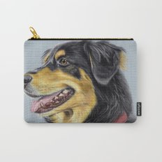 Dog Portrait 01 Carry-All Pouch