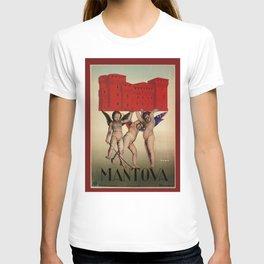 Mantova travel and cherubs T-shirt
