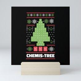 Chemis-Tree chemical elements christmas tree Mini Art Print