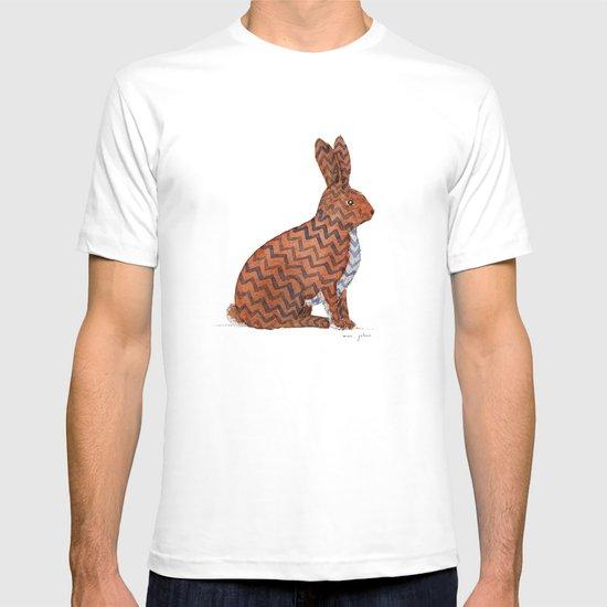zig zag rabbit T-shirt