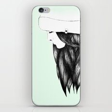 Snow Girl iPhone & iPod Skin