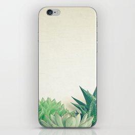Succulent Forest iPhone Skin