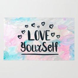 LOVE YOURSLEF Rug