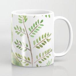 Kakapo in the ferns Coffee Mug