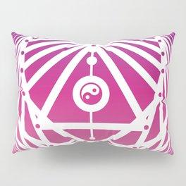 Radiant Abundance (warm purple-white) Pillow Sham