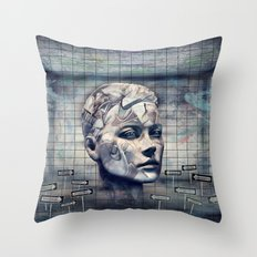 Phasenspektrum Throw Pillow