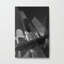 From the Darknesss comes Light Metal Print