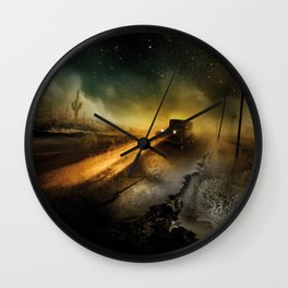 Desolation Road Wall Clock