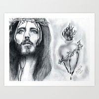 religious Art Prints featuring Religious  by Lion Aguirre