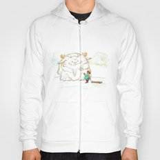 A Friendly Snow Monster Hoody