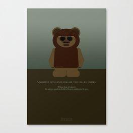 Ewoks! Canvas Print