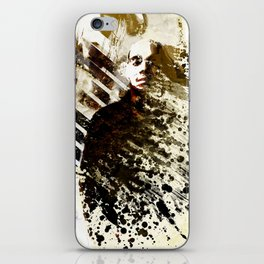Splatter-Portrait iPhone Skin