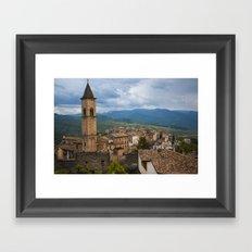 Pacentro Framed Art Print