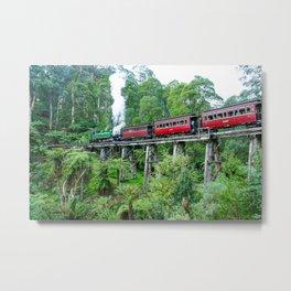 Puffing Billy Railway, Belgrave, Victoria Metal Print