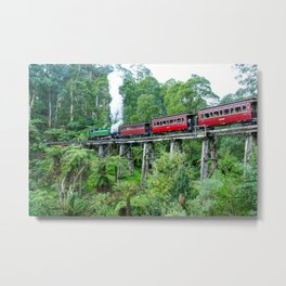 Puffing Billy Railway, Belgrave, Victoria Metal Print