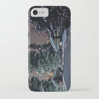finland iPhone & iPod Cases featuring Winter in Lapland Finland  by Guna Andersone & Mario Raats - G&M Studi