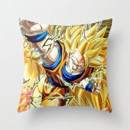 Goku Throw Pillow