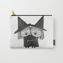 The Twin Witches Hug Carry-All Pouch