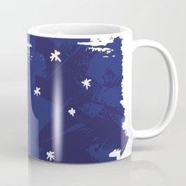Abstract Australian Flag Coffee Mug