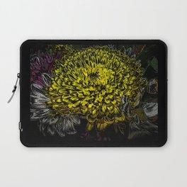 Black yellow art Laptop Sleeve