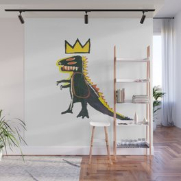 Dinosaur: Homage to Basquiat Wall Mural